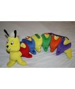 Dress A Pillar Plush Caterpillar Learn To Dress Stuffed Toy TIE BUTTON E... - $18.35