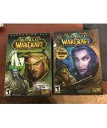 World of Warcraft (Windows/Mac, 2004) and Burning Crusade Expansion Set ... - $10.00