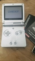 Nintendo Game Boy Advance SP Platinum Silver AGS-001 Works Great gamer  (D1 - $48.50