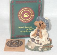 Boyd Bearstone Resin Bears Sebastian's Prayer Figurine #2227 17E NEW IN BOX image 3