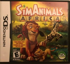 SimAnimals Africa (Nintendo DS, 2009) - $9.89