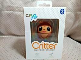 Cylo Pop Critter Portable Wireless Bluetooth Speaker Monkey - $9.89