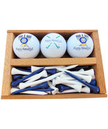 Westmon Works Happy Hanukkah Golf Gift Set Menorah and Clubs Set of 3 Balls - €12,76 EUR