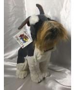 "Vintage Schnauzer Plush Dream Play Doggie Collection 11"" Realistic - $17.81"