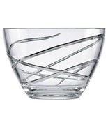 Lenox Adorn Crystal Bowl New In The Box 8 Inch Made And Czech Republic - $71.27