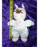 Prestige plush doll friends forever butterfly snail flower white purple ... - $44.49