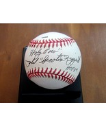 PHIL RIZZUTO SCOOTER HOLY COW HOF 94 YANKEES SIGNED AUTO STAT BASEBALL JSA  - $148.49