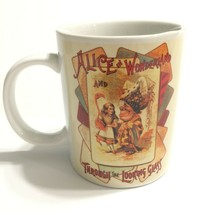 Alice in Wonderland and Through the Looking Glass Coffee Mug Tea Cup - $19.34