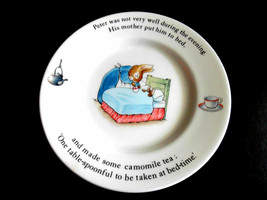 Peter Rabbit Plate By Wedgewood (7 INCHES) - $20.75
