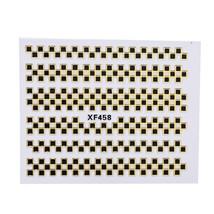10pcs Nail Art Decal Sets Gold Mix Designs Nail Sticker(#4) - $7.55