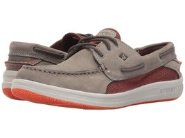 NEW Sperry Top Sider Gamefish 3-Eye Knit Boat Shoe Mens Grey Free Shipping - $46.46+