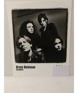 """BRUCE DICKENSON - PROMO PICTURE - RARE - 8"""" X 10"""" + STICKERS - FREE SHIP... - $28.05"""