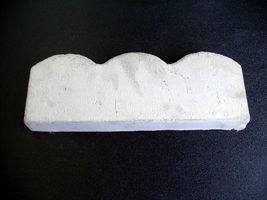 "6 SCALLOP CONCRETE GARDEN EDGING MOLDS MAKE 100s OF FEET OF 5.5"" LANDSCAPE EDGES image 3"