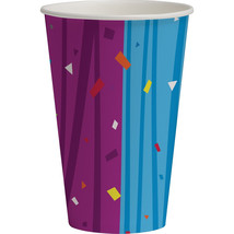 12 oz Hot/Cold Paper Cups Milestone Celebrations, Case of 96 - $54.94