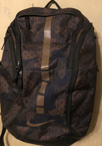 Nike Large Hiking Camping Carry On Backpack Brown Camo  Tons Of Room 10+... - $39.59