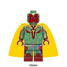 Super Heroes Vision Marvel Avengers Infinity War Single Sale Minifigures Block - $1.99