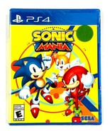 Sonic Mania Sega Sonic The Hedgehog Series Sony PlayStation 4 New Factor... - $21.77
