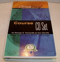 The Optionetics Course - 15 CD + 828 Page eBook LEARN OPTIONS TRADING ST... - $74.88
