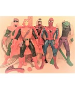 Marvel Spiderman Deluxe Edition Figures by Toy Biz 1994 ~ Lot of 5 ~ app... - $122.21