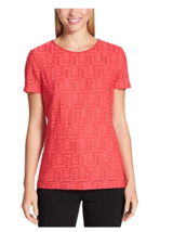 Calvin Klein Women's Stretch Textured Shirt SZ XXL - $18.04