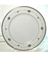 "4x Noritake Joanne Japan 6466 Porcelain Dinner Plates Floral Gold Accents 10.5"" - $33.25"