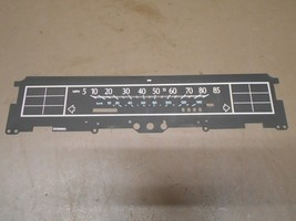 89 Cadillac Deville Fleetwood Analog Gauge Cluster Diagram Layout Nameplate - $14.99
