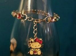 Avon Hello Kitty Bracelet Charm w/ Rhinestones - $28.70