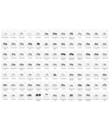 Fonts Bundle 819 IN 1, Fonts Set, Fonts Pack, Commercial Use. Digital Download! - $1.99