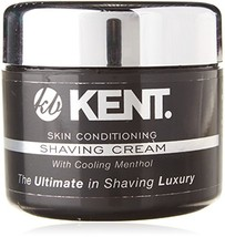 Kent Shaving Cream SCT2 Superior Men Smooth Cooling Menthol Shave Cream, No More image 1