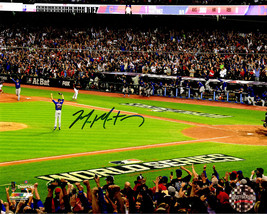 MIKE MONTGOMERY Signed Cubs 2016 World Series Game 7 Last Out 8x10 Photo... - $64.35
