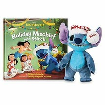 Disney Stitch Poseable Plush and ''Holiday Mischief with Stitch'' Book Set - $41.04