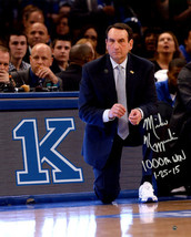"Mike Krzyzewski signed Duke Blue Devils 1000th Win 11X14 Photo  ""1000th ... - $228.95"