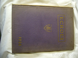 1936 Gunston Hall Washington DC, Yearbook Echoes image 1