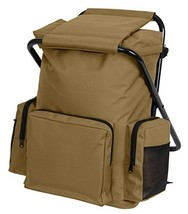 Rothco Backpack and Stool Combo Pack, Coyote Brown - $37.99