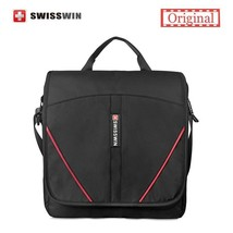 BDF Original Swisswin Unisex  Messenger Bag Casual Shoulder Bag Black Sa... - $40.44