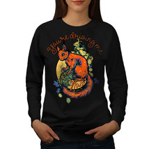 Driving Me Nuts Jumper Funny Women Sweatshirt - $18.99
