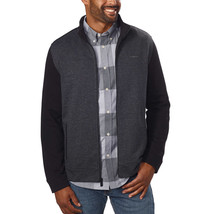 Calvin Klein Men's Full Zip Long Sleeve Jacket, Black, Size XL - $19.79