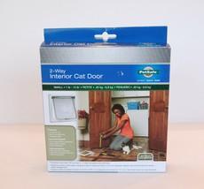 PetSafe 2 Way Interior Cat Door Small 1-15 Lbs. CD10-050-11 - NEW - $18.80
