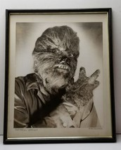1967 PORTRAIT OF A WEREWOLF Exhibited PHOTOGRAPH Framed 21×17 OOAK - $49.95