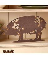 Metal Farm Animal Figure Pig - $20.82