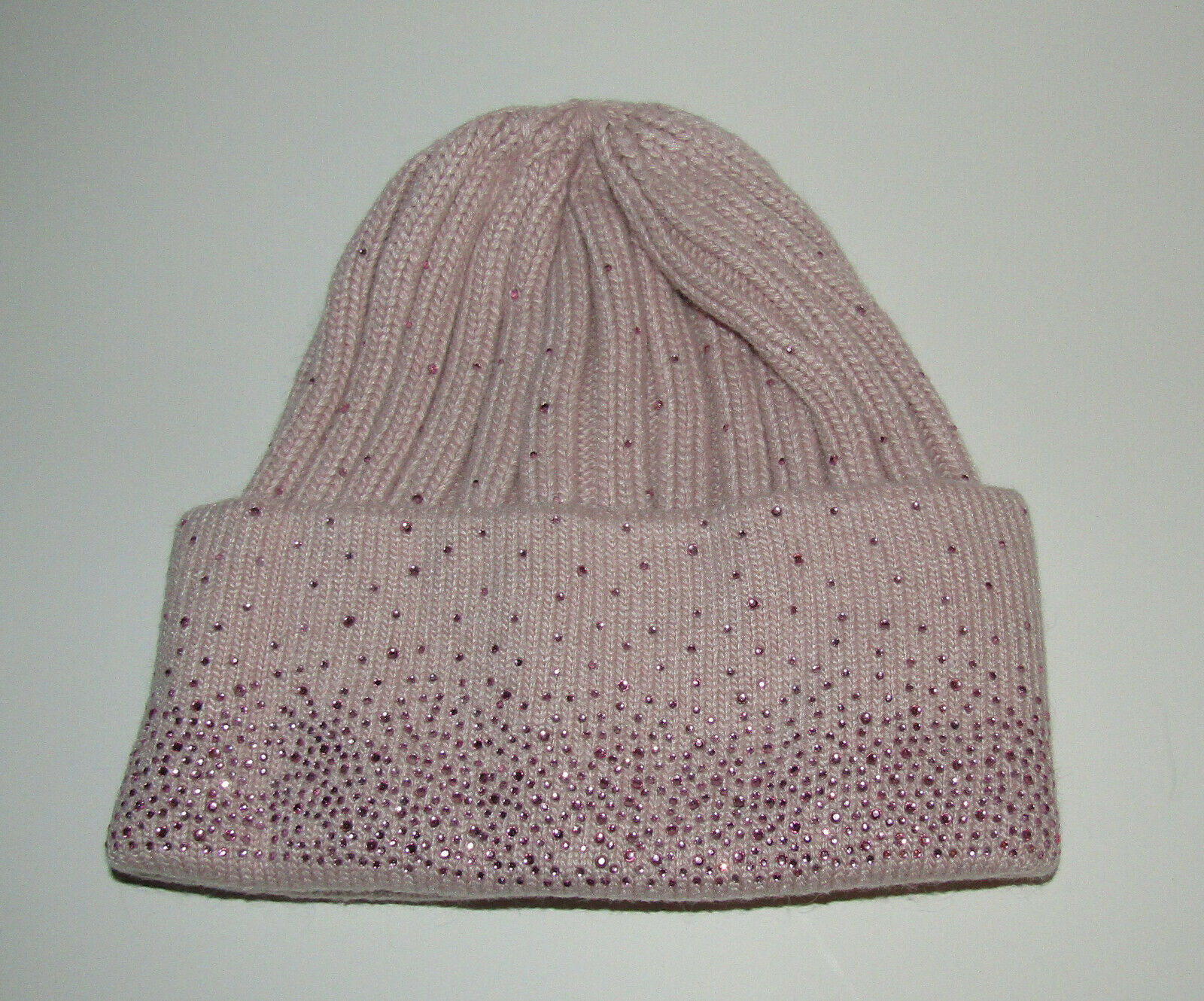 Primary image for Pink Hat Sparkly Accents New Womens Angora Acrylic
