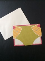 Blank Stationery Baby Girl Shower Birth Announcement Diaper Thank You 10... - $8.78