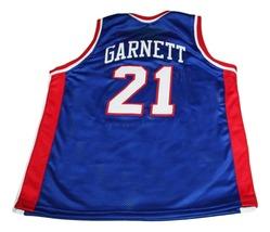 Kevin Garnett #21 McDonalds All American New Men Basketball Jersey Blue Any Size image 4
