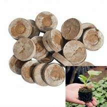 30mm Jiffy Peat Pellets Seed Starting Plugs Seeds Starter Pallet Seedlin... - $3.45