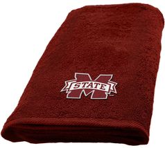 Mississippi State Bulldogs Hand Towel dimensions are 15 x 26 inches - $16.95