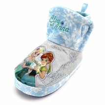 NEW Disney Frozen Fever Baby Girls Slouchy Slippers Booties 3/4  - $8.99