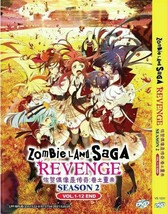 DVD Zombie Land Saga Revenge Season 2: VOL.1 - 12 End English Sub Ship From USA
