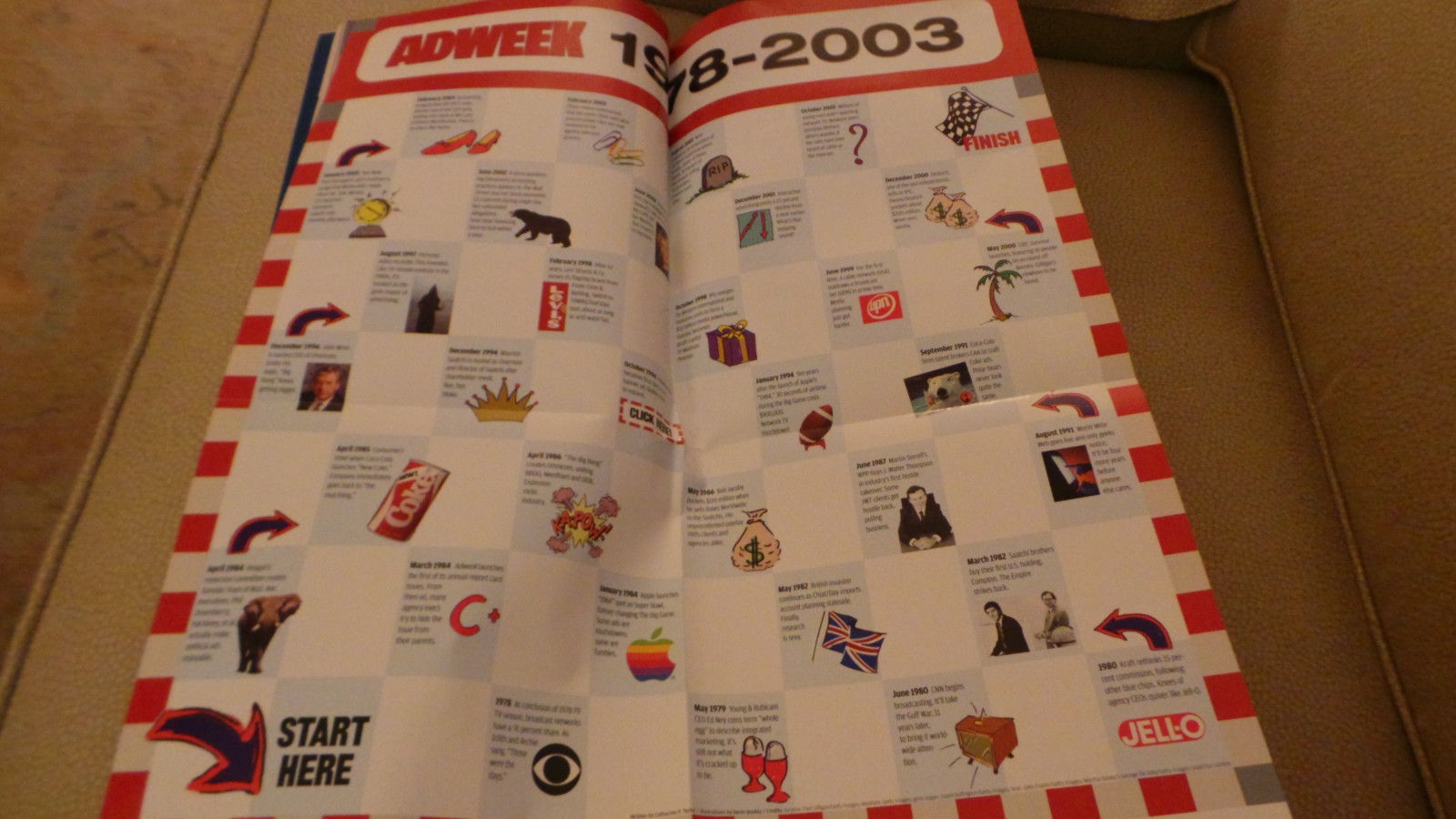 Adweek Magazine 25th Anniver Ad Ageny Execs; Timeline; Lee Clow; P&G Nov 2003 NF