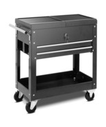Rolling Mechanics Tool Cart Slide Top Utility Storage Cabinet Organizer ... - $193.93