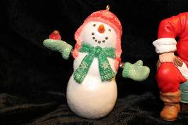 Hallmark Christmas Tree Ornament Santa snowman Raggedy Ann Andy lot of 6 image 7